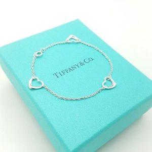 Tiffany & Co Elisa Peretti Open Heart Bracelet